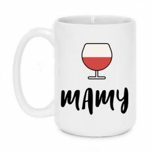Kubek 450ml Mama i wino