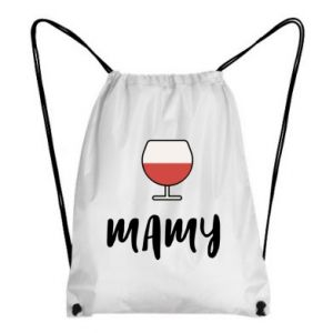 Backpack-bag Mommy and wine