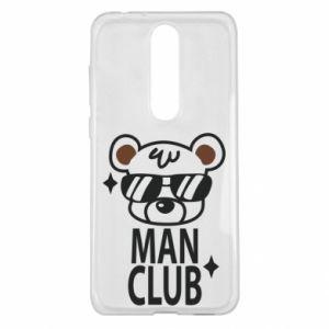 Nokia 5.1 Plus Case Man Club