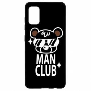 Samsung A41 Case Man Club