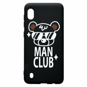 Samsung A10 Case Man Club