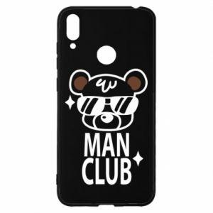 Huawei Y7 2019 Case Man Club