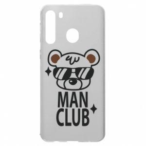 Samsung A21 Case Man Club