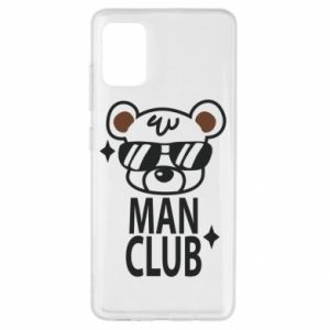 Samsung A51 Case Man Club