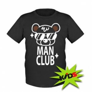 Kids T-shirt Man Club
