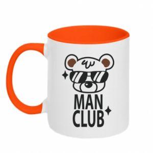 Kubek dwukolorowy Man Club