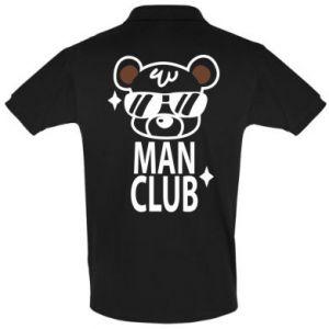 Men's Polo shirt Man Club