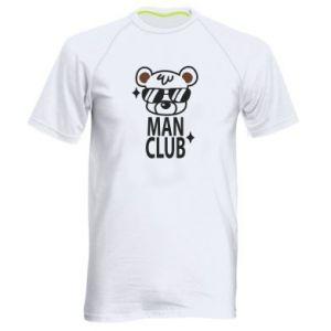 Men's sports t-shirt Man Club