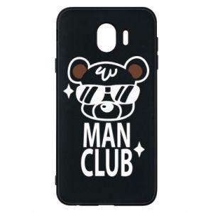 Samsung J4 Case Man Club