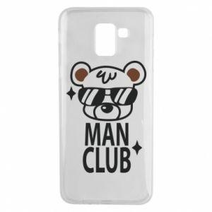 Samsung J6 Case Man Club
