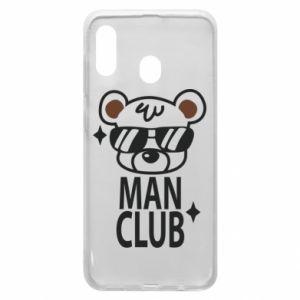 Samsung A20 Case Man Club