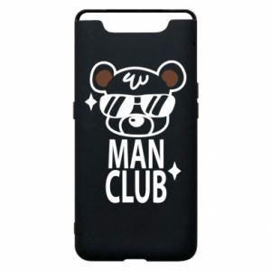 Samsung A80 Case Man Club