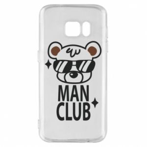 Phone case for Samsung S7 Man Club