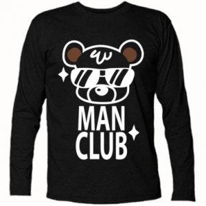 Koszulka z długim rękawem Man Club - PrintSalon