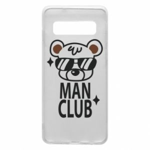 Phone case for Samsung S10 Man Club