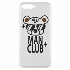 Huawei Y6 2018 Case Man Club