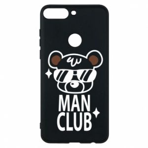 Phone case for Huawei Y7 Prime 2018 Man Club