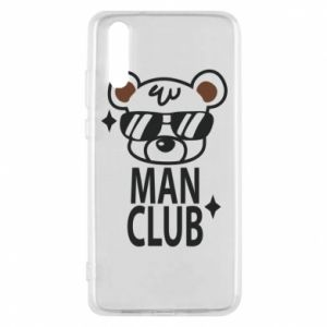 Phone case for Huawei P20 Man Club