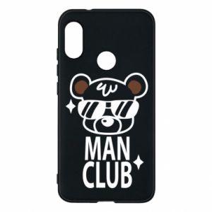 Mi A2 Lite Case Man Club