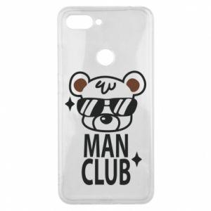 Xiaomi Mi8 Lite Case Man Club