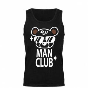 Męska koszulka Man Club - PrintSalon