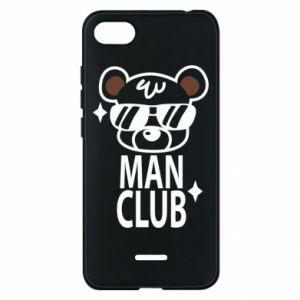 Xiaomi Redmi 6A Case Man Club