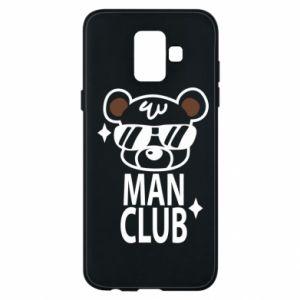 Samsung A6 2018 Case Man Club