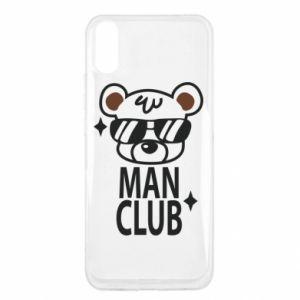 Xiaomi Redmi 9a Case Man Club