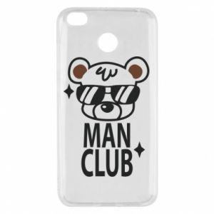 Xiaomi Redmi 4X Case Man Club