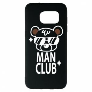 Samsung S7 EDGE Case Man Club