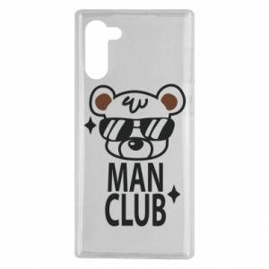 Samsung Note 10 Case Man Club