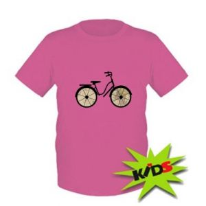 Kids T-shirt Bike map