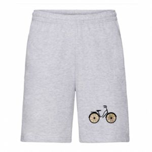 Men's shorts Bike map