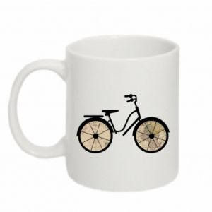 Mug 330ml Bike map