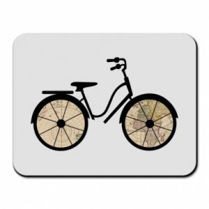 Mouse pad Bike map