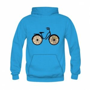 Kid's hoodie Bike map