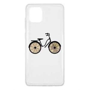 Samsung Note 10 Lite Case Bike map