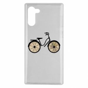 Samsung Note 10 Case Bike map