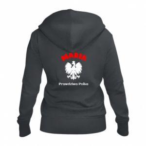 Damska bluza na zamek Maria jest prawdziwą Polką