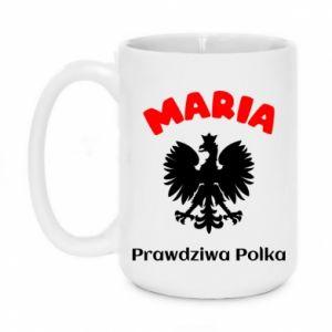 Mug 450ml Maria is a real Pole - PrintSalon