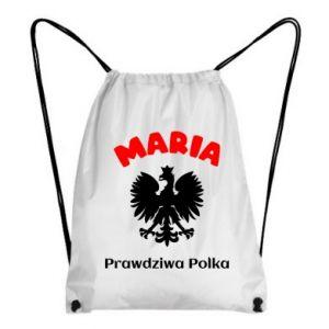 Plecak-worek Maria jest prawdziwą Polką