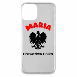 Phone case for iPhone XR Maria is a real Pole - PrintSalon