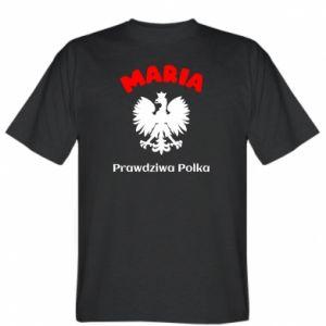 Koszulka męska Maria jest prawdziwą Polką