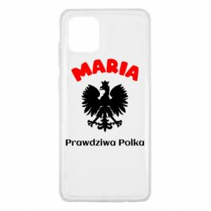 Phone case for Samsung S10 Maria is a real Pole - PrintSalon