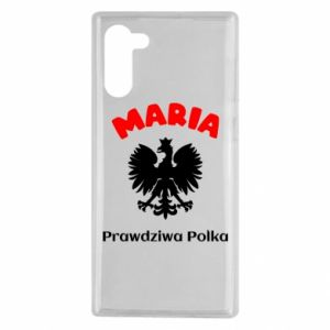 Phone case for Samsung S10+ Maria is a real Pole - PrintSalon