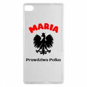 Phone case for Xiaomi Mi A2 Maria is a real Pole - PrintSalon