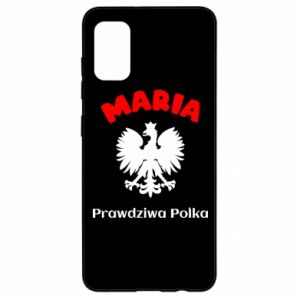 Phone case for Samsung A6 2018 Maria is a real Pole - PrintSalon