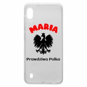 Phone case for Samsung A9 2018 Maria is a real Pole - PrintSalon
