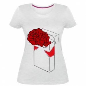 Damska premium koszulka Marlboro