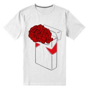 Męska premium koszulka Marlboro